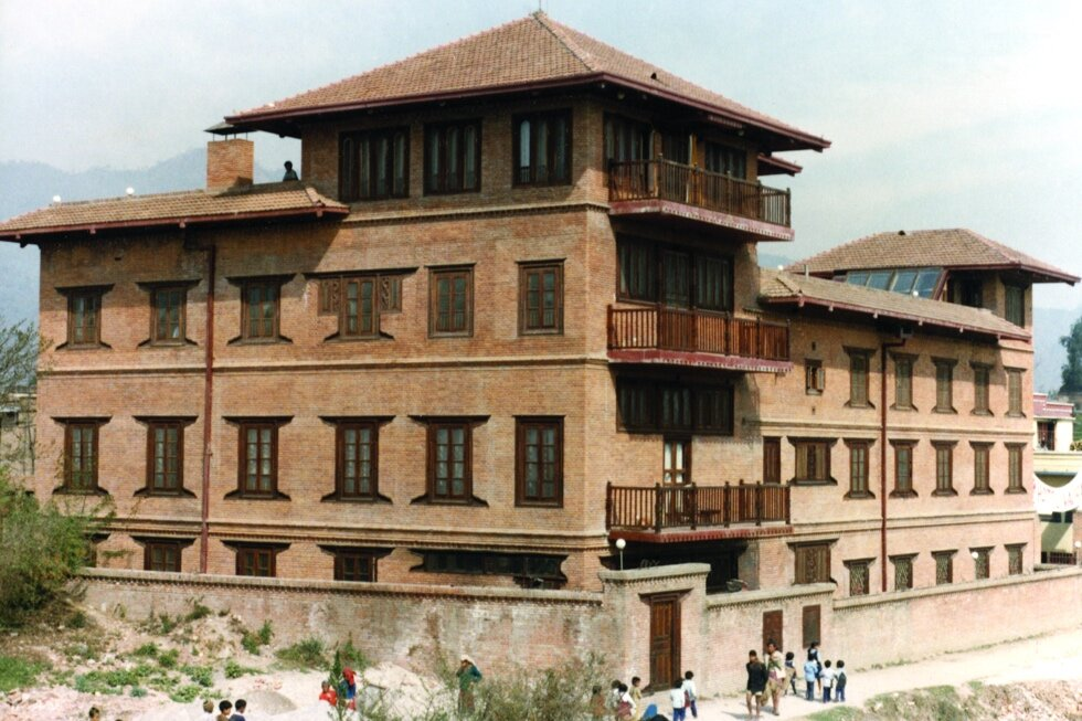 Hotel in Kathmandu created by the Synergists, funded by Ed Bass