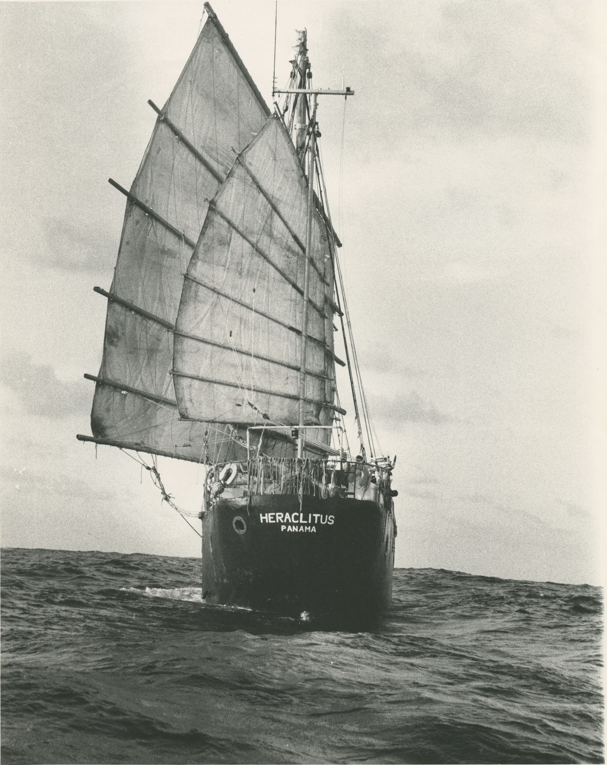 Heraclitus, the ship constructed by the Synergists