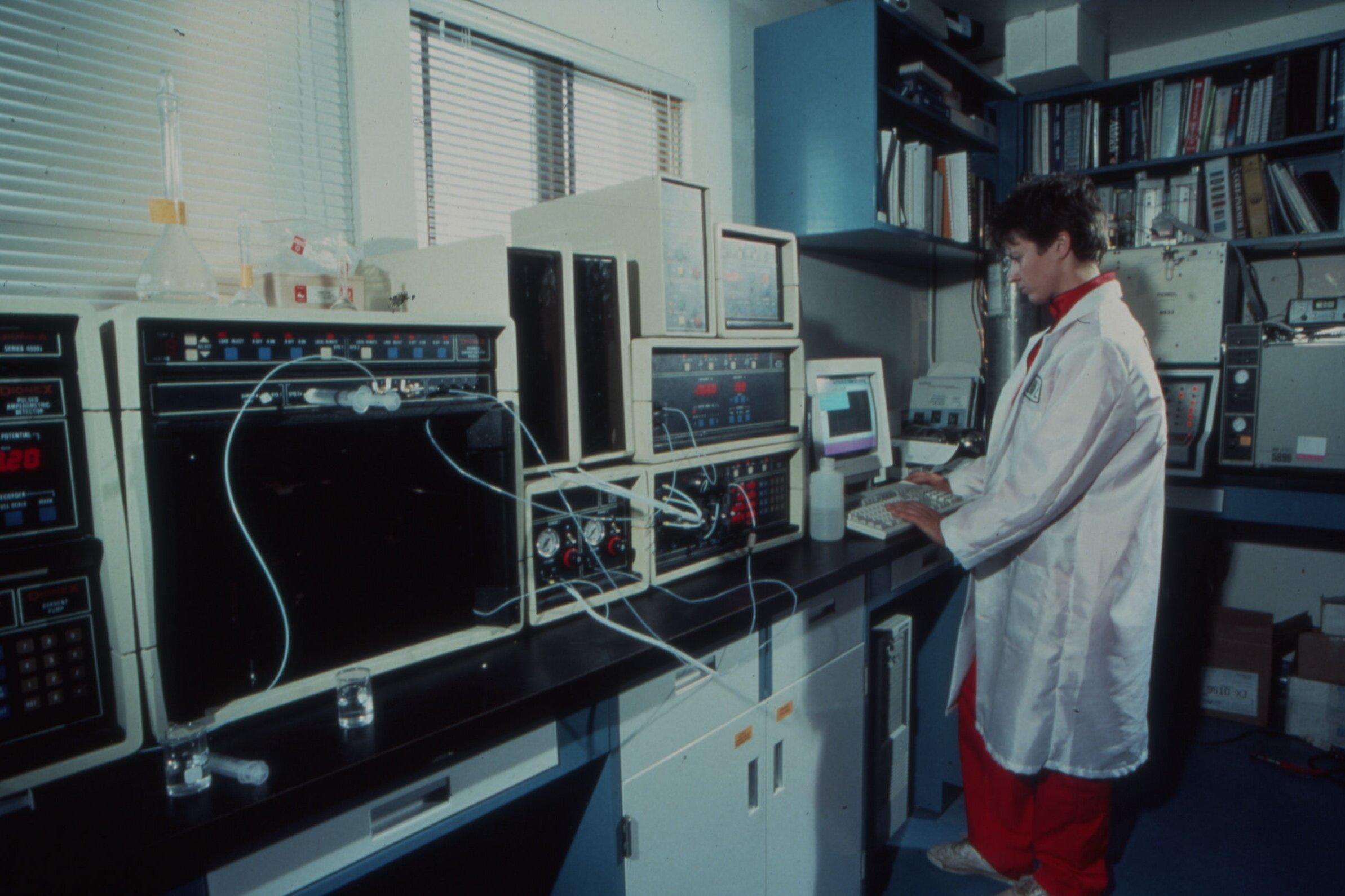 Biospherian logging data in the Biosphere 2