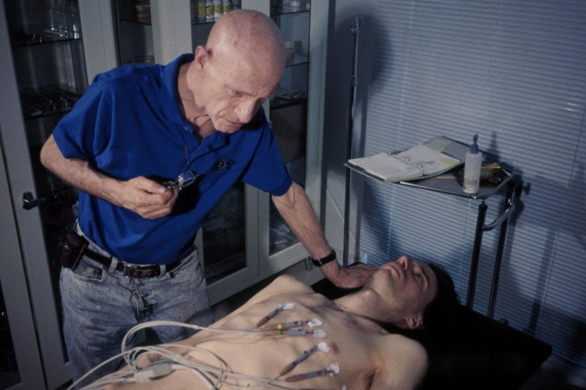 Routine medical check in the Biosphere 2
