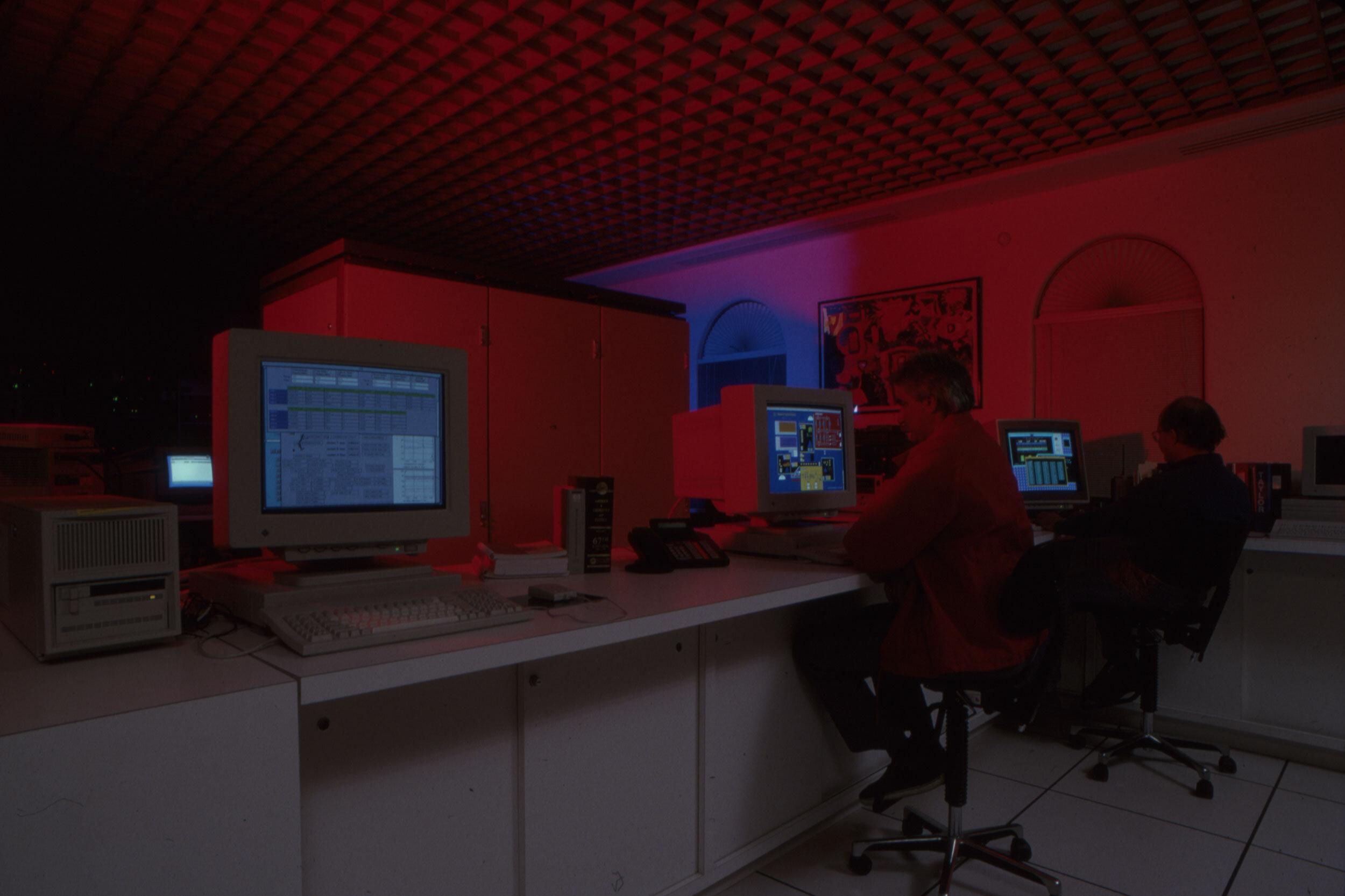 Logging data in Biosphere 2