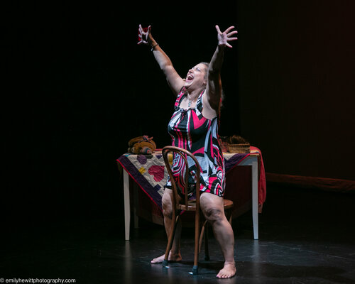 Valerie David Hosts Talkbacks Following Performances Of THE PINK HULK