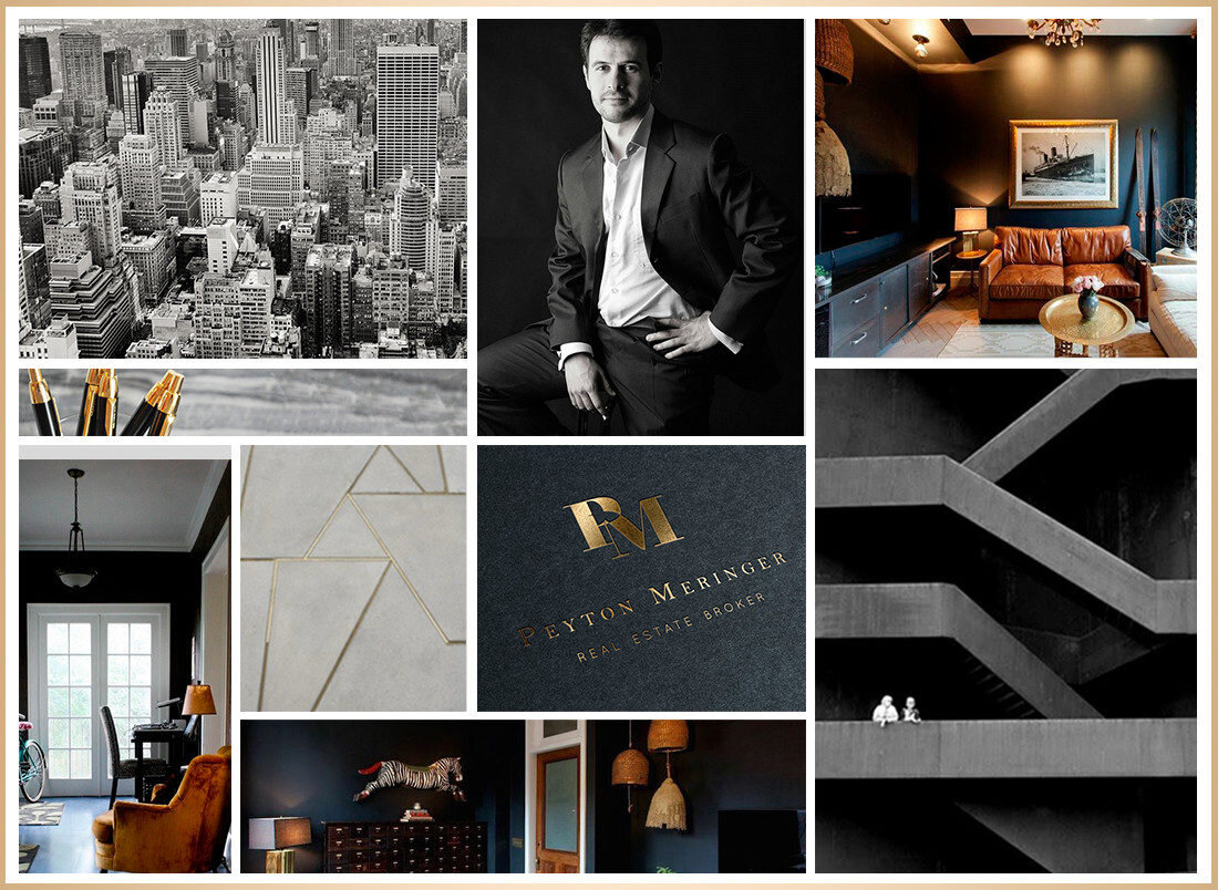 Real estate brand & website inspirations by Jenny Rose Creative
