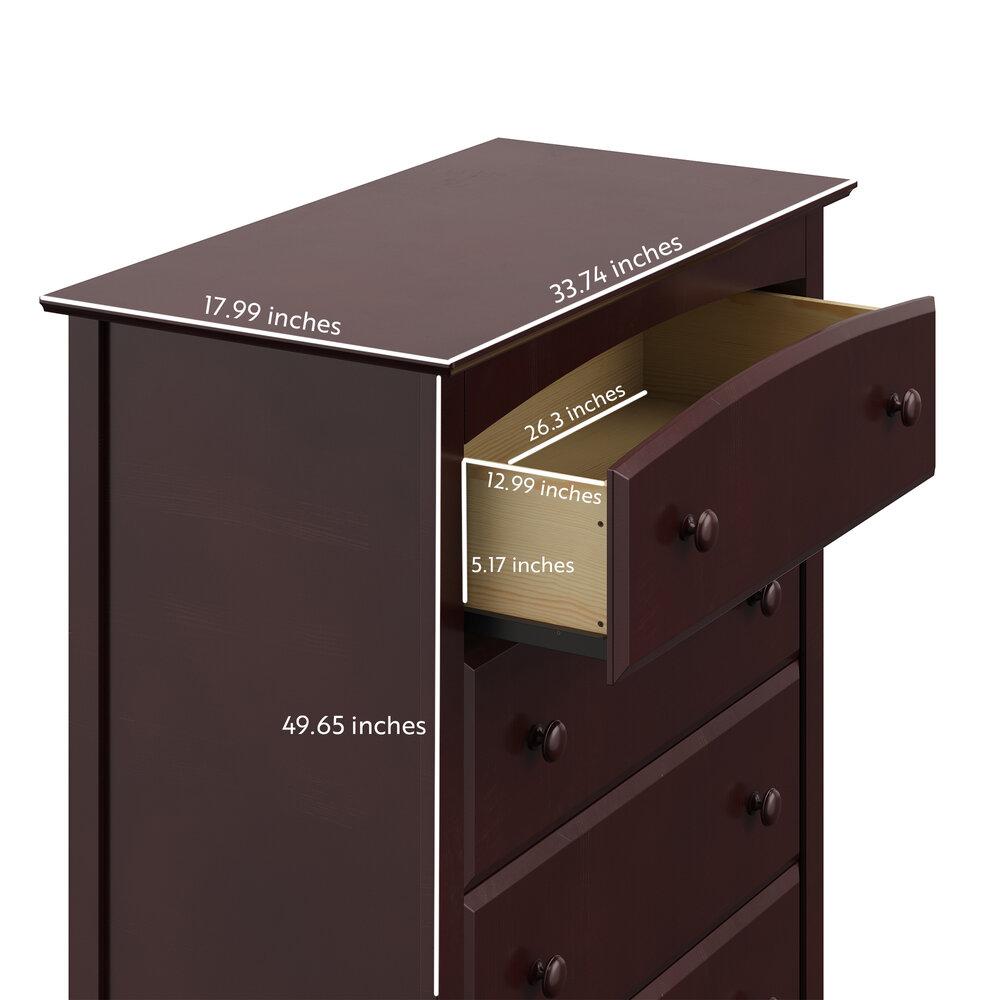 Storkcraft Kenton Dresser 5 Drawer