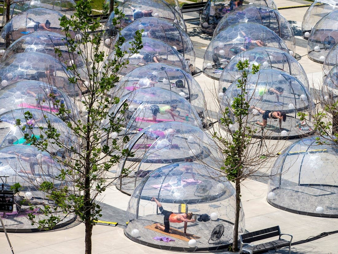 Toronto Deems Tent Cities Ok As Long As They Re Only For Rich White Ladies To Do Yoga In The Toronto Harold