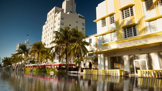 miami beach - resiliency gis analyses + historic districts