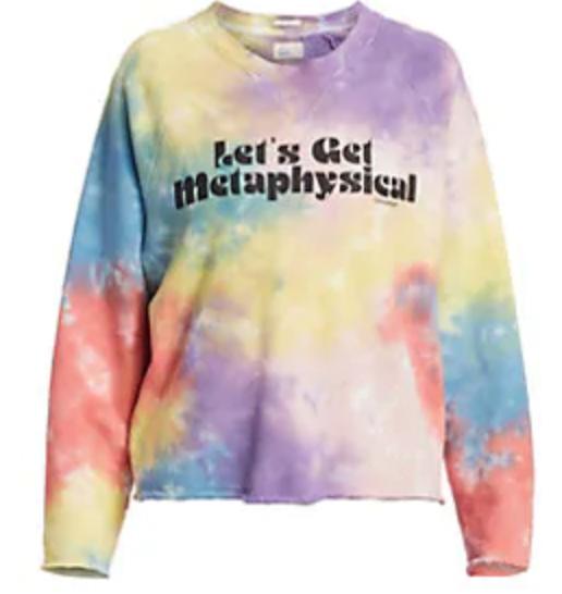 Mother-The-Champ-Crop-Raw-Rainbow-Tie-Dye-Sweatshirt