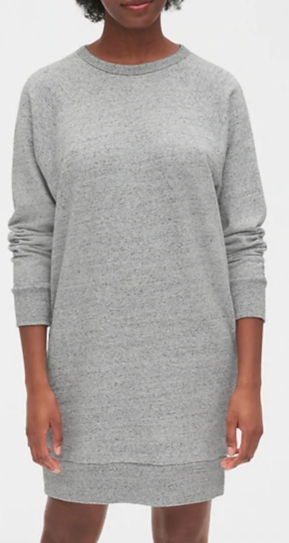 gap-heather-gray-sweatshirt-dress