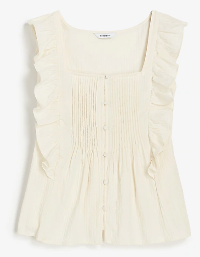 Express  , Sleeveless blouse