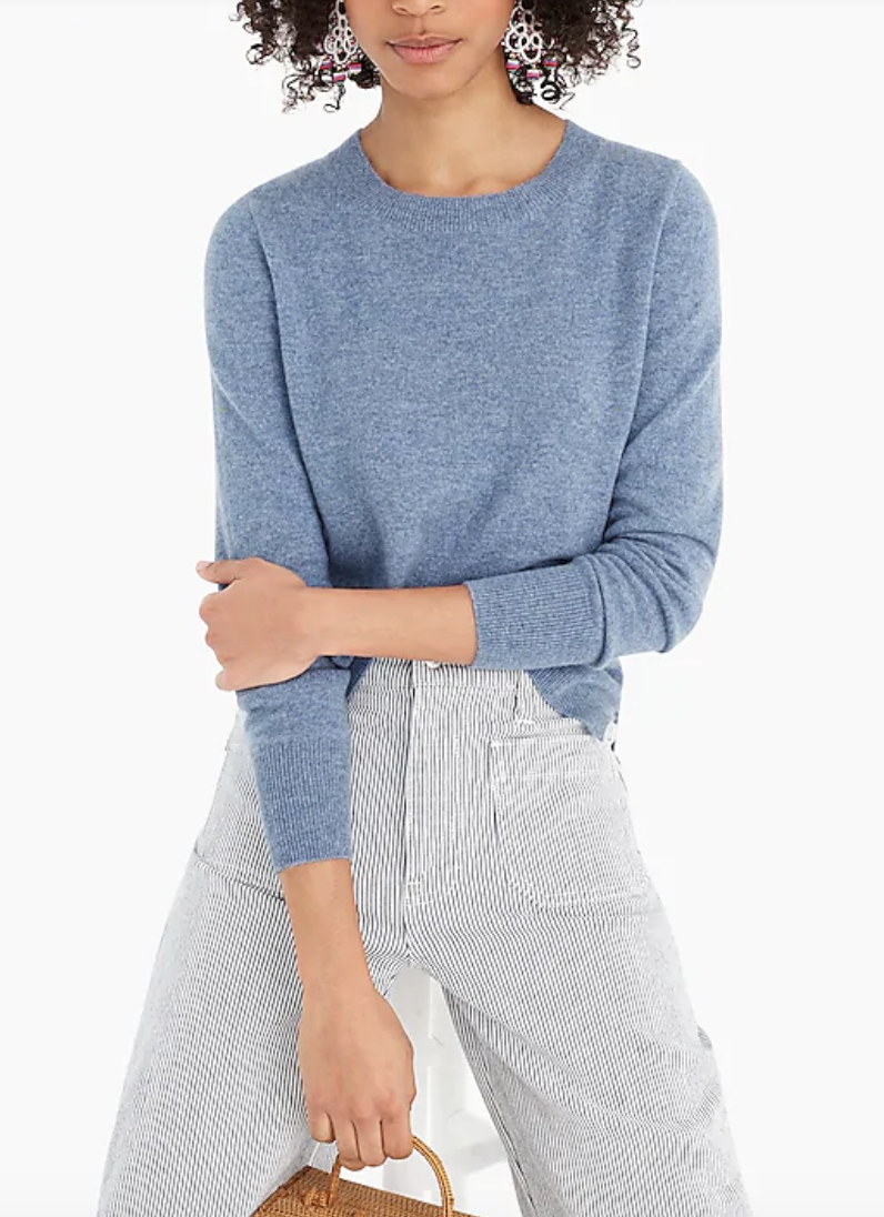 J. Crew ,  cashmere sweater