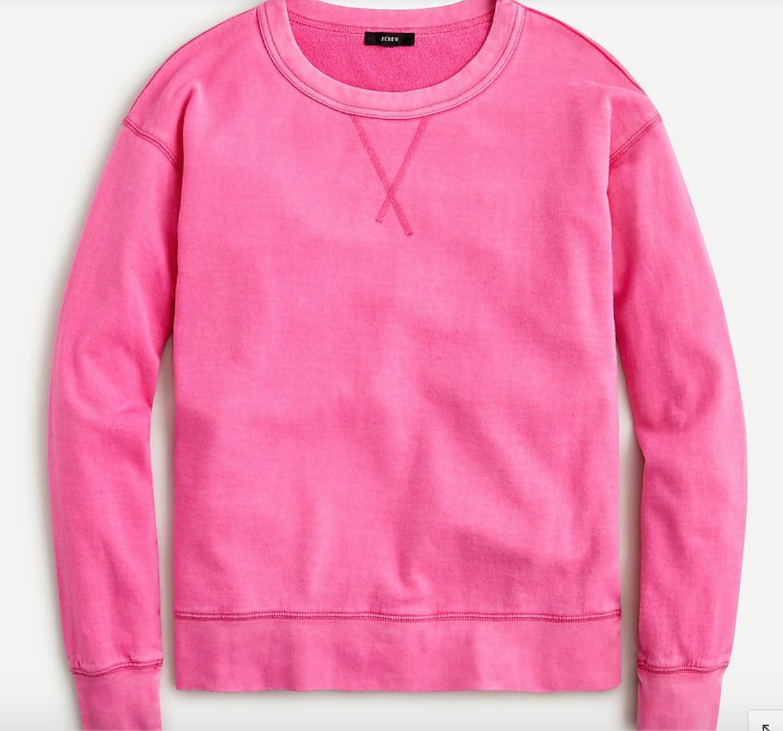 J. Crew ,  boyfriend sweatshirt