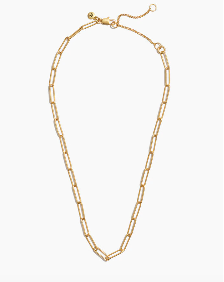 Madewell ,  paperclip chain necklace