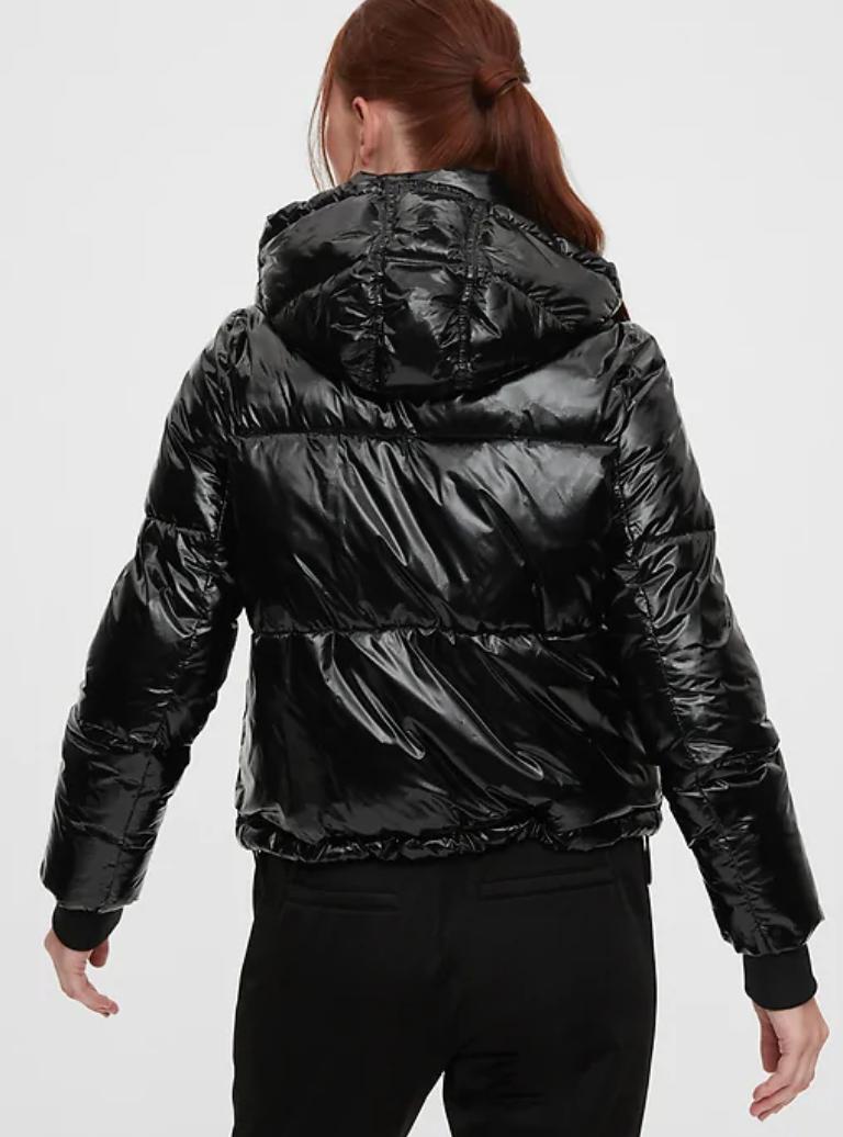 Gap ,  upcycled cropped puffer jacket