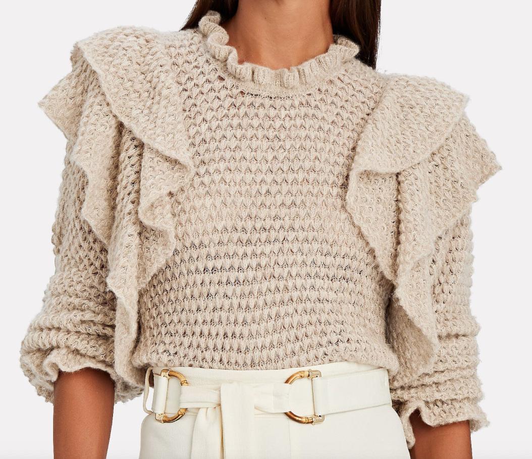 Intermix ,  Camilla Frill Sweater