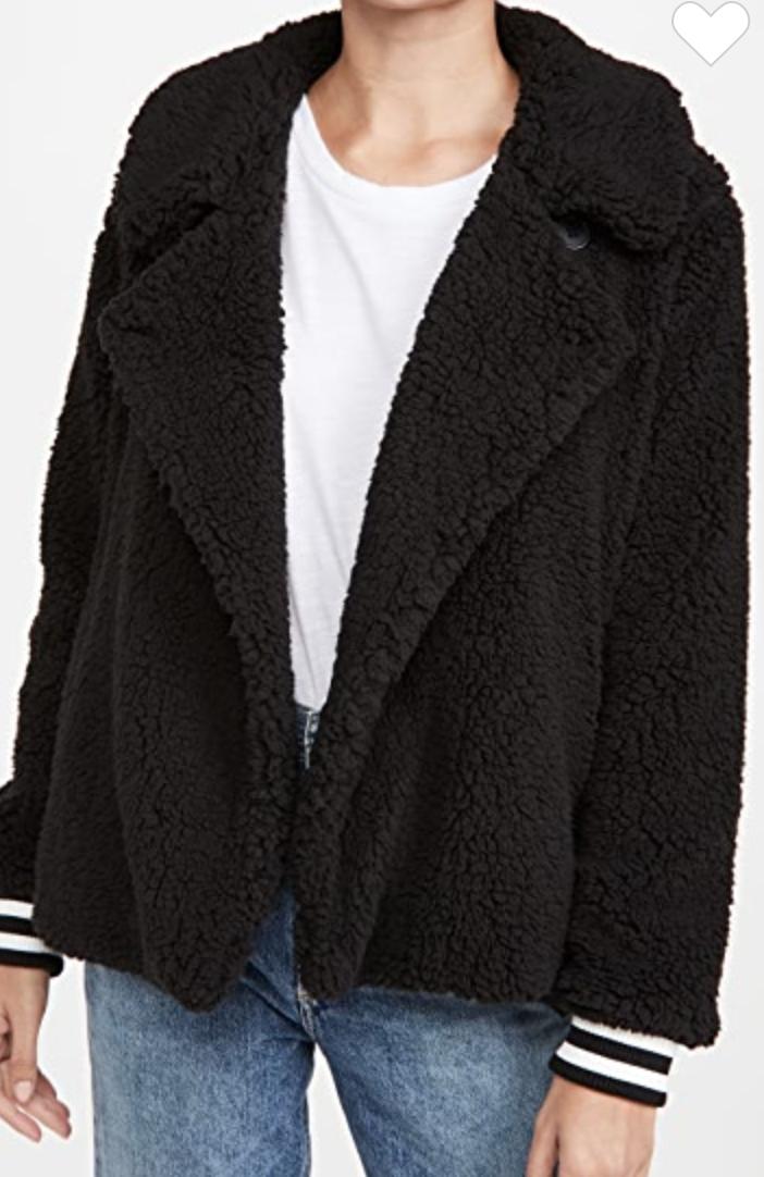 BB Dakota   fleece + love jacket