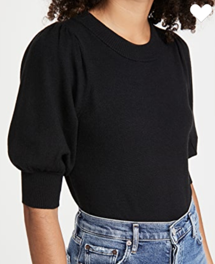 BB Dakota   puff sleeve sweater