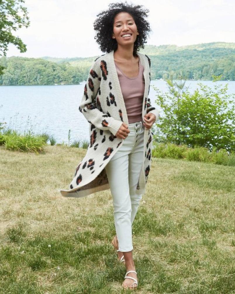 Target ,  leopard print cardigan