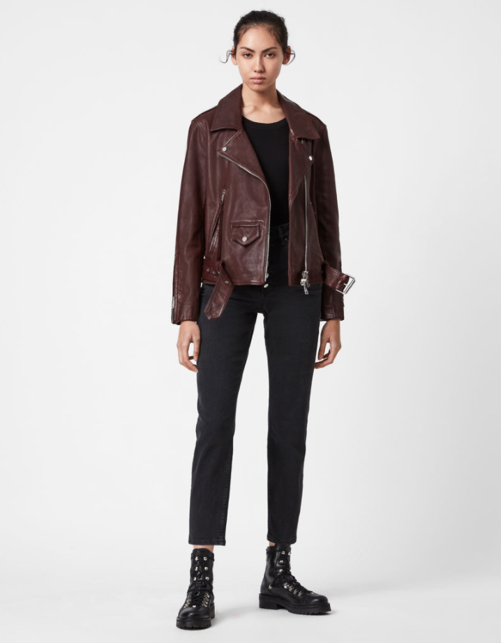 AllSaints ,  luna leather jacket
