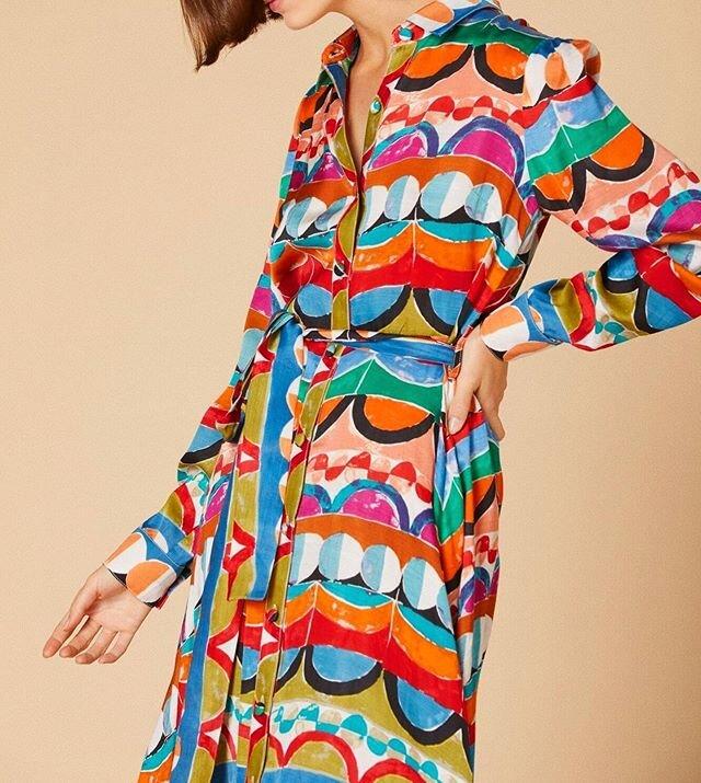 Fantastic print & fabric 💃🏼