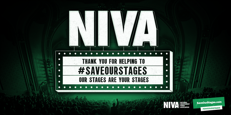 Thank you for helping to #SaveOurStages!