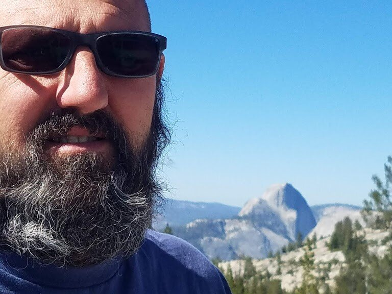 John Sturkie in Yosemite National Park