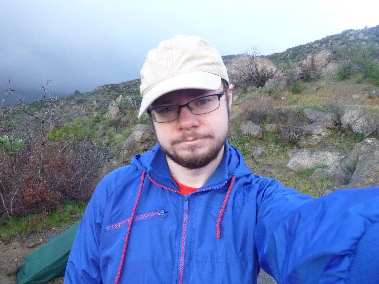 David on trail.