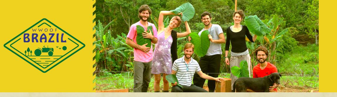 Example WWOOFers in Brazil