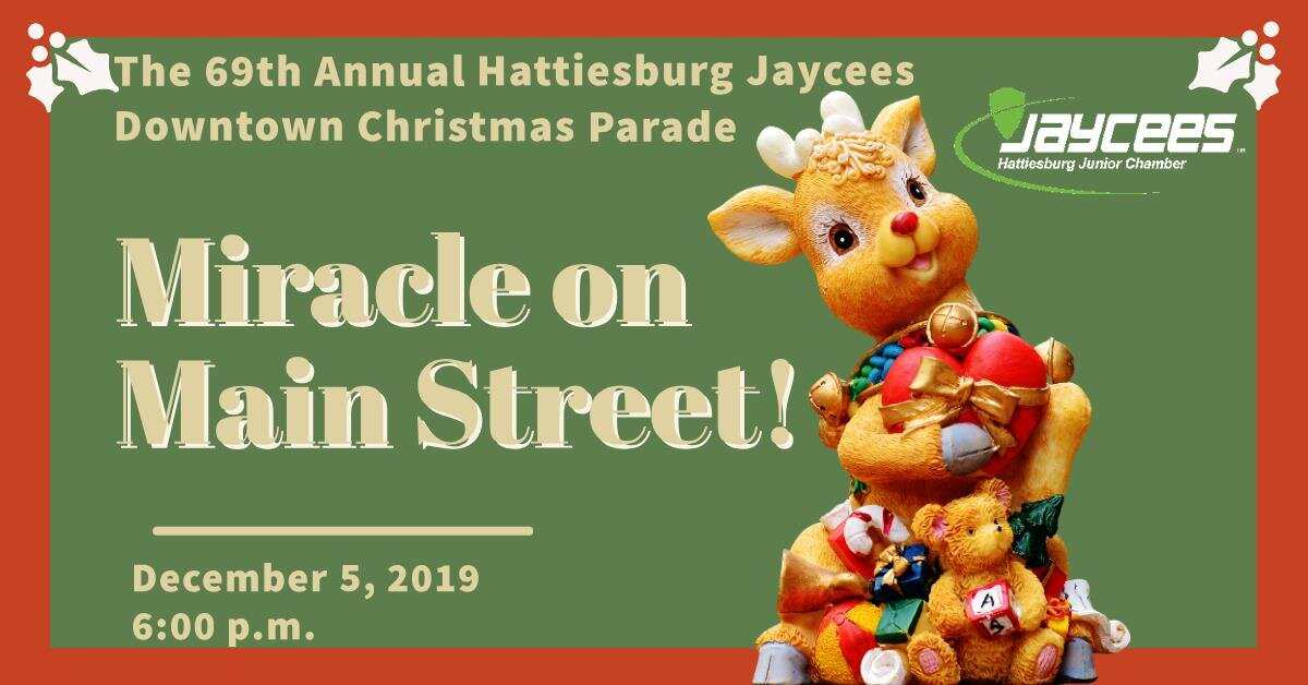 Hattiesburg Christmas Parade 2020 Downtown Christmas Parade — Untitled
