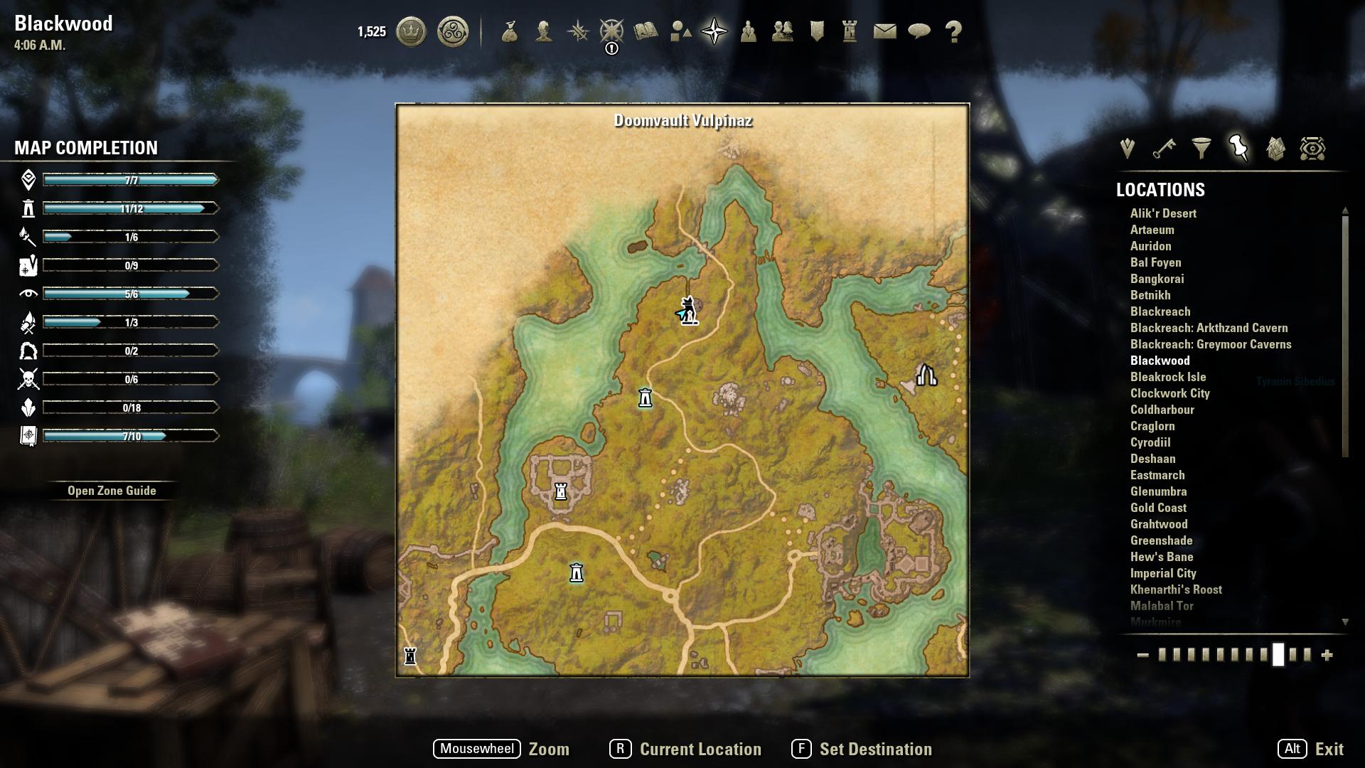 The Elder Scrolls Blackwood Companions Guide