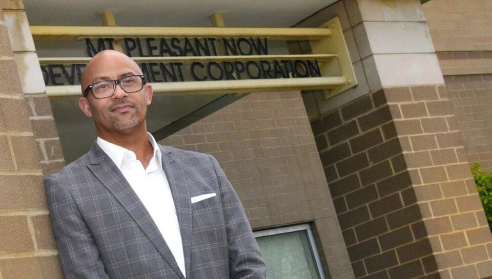 Nicholas Perry of Mt. Pleasant Now Development Corp.