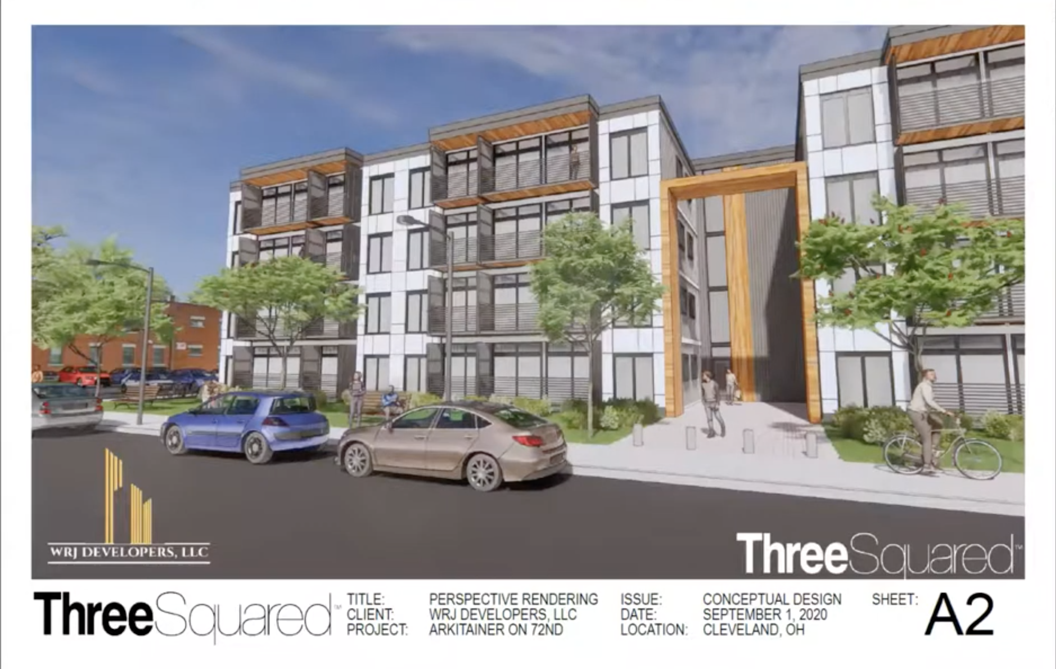 Upcycled Shipping Container Apartments Coming To St Clair Superior Plus A Mixed Use Building In Glenville The Land