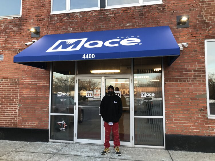 MarRay Turner at MACE Security Plant in Midtown, Cleveland. Photo: Lee Chilcote.