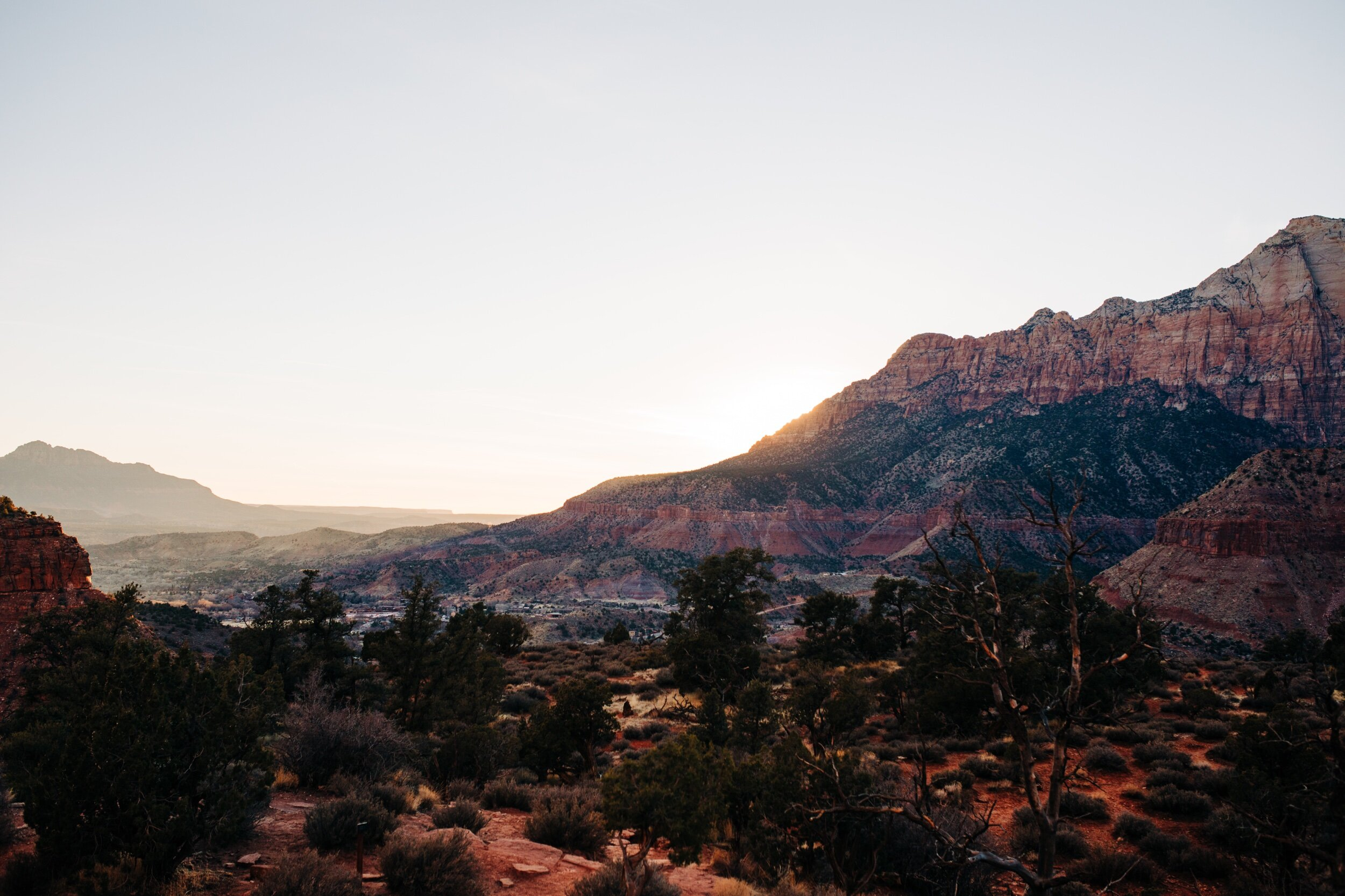 View from Watchman's trail