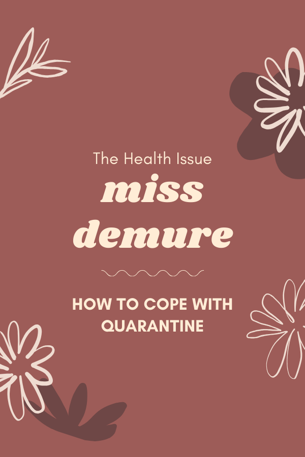 The Health Issue: Miss Demure