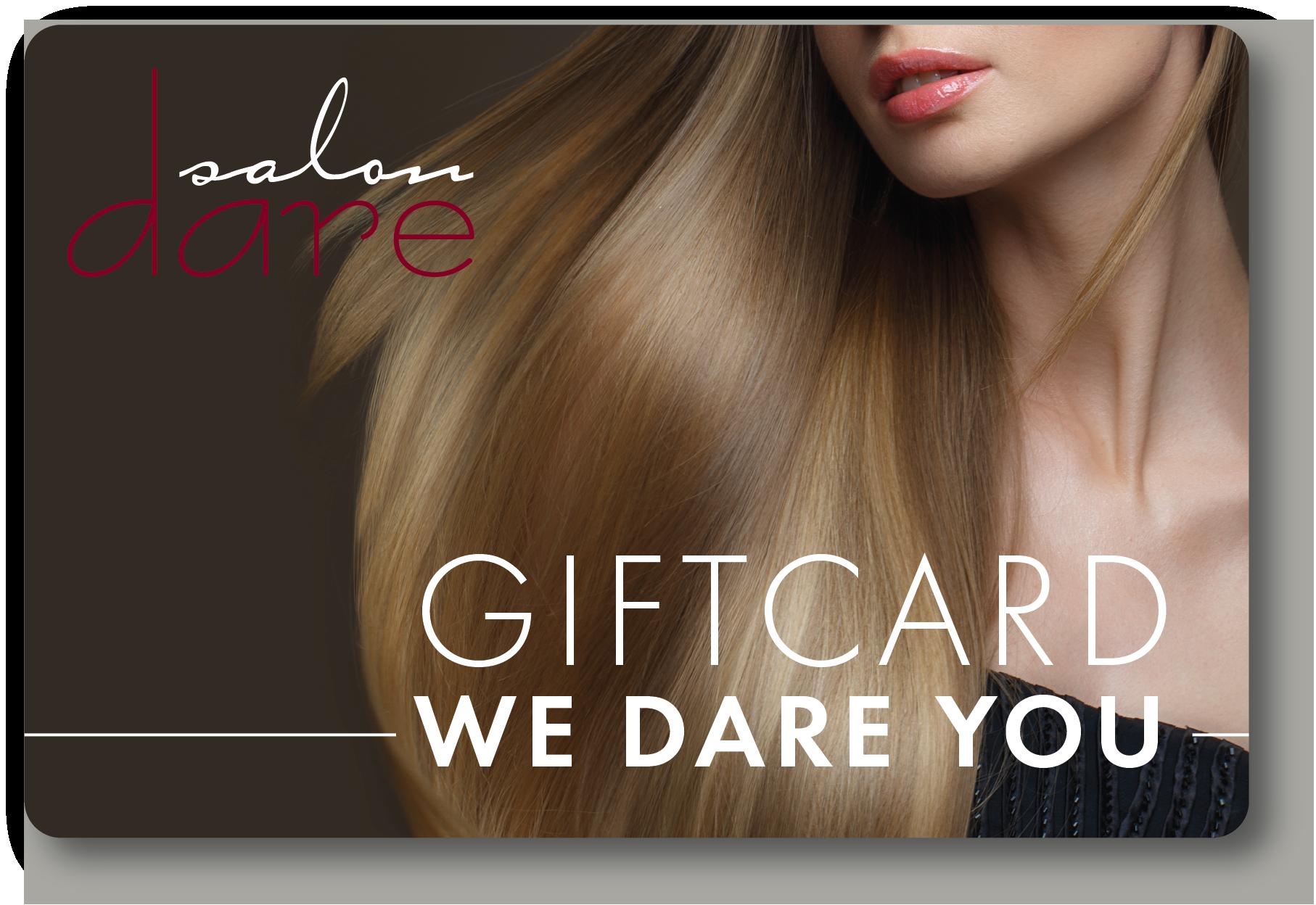 salon gift card