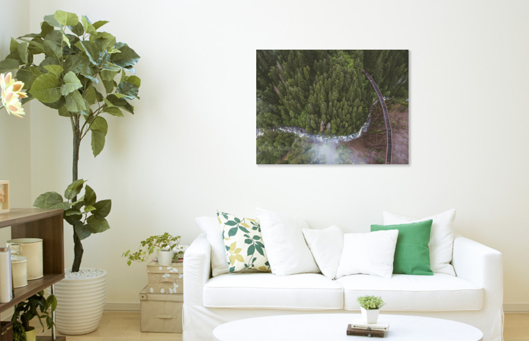 Art Prints. - Available in stretched canvas and premium luster photo paper.