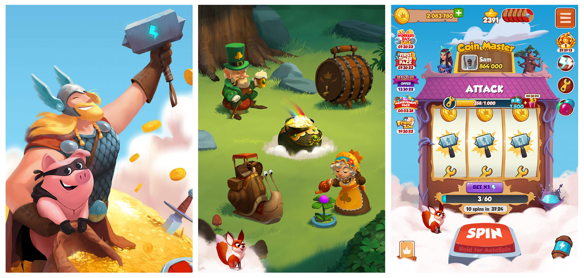 How Coin Master's approachable Art defined Casual Slot genre — Game Art  Analysis