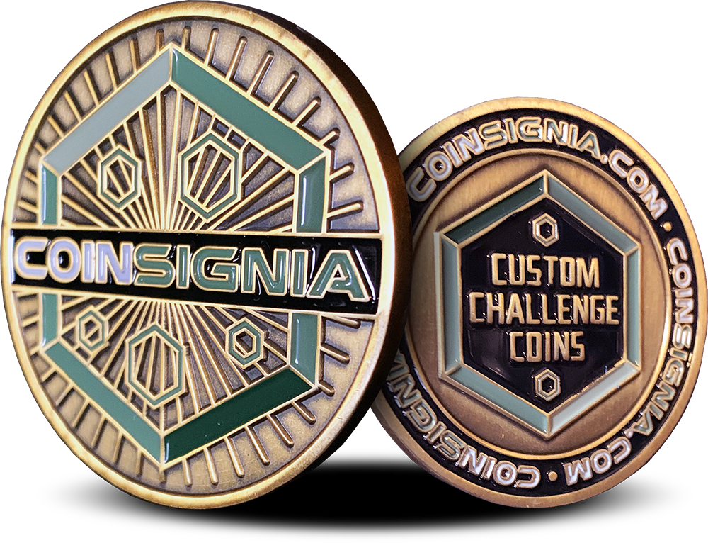 Coinsignia | Custom Challenge Coins | Lowest Prices at the Highest Quality
