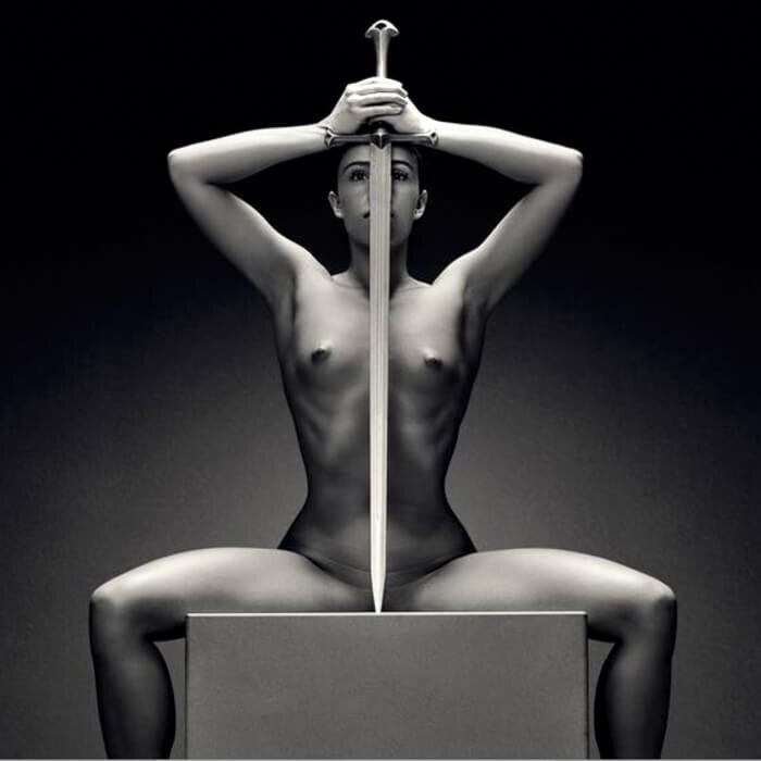 Fine arts nude