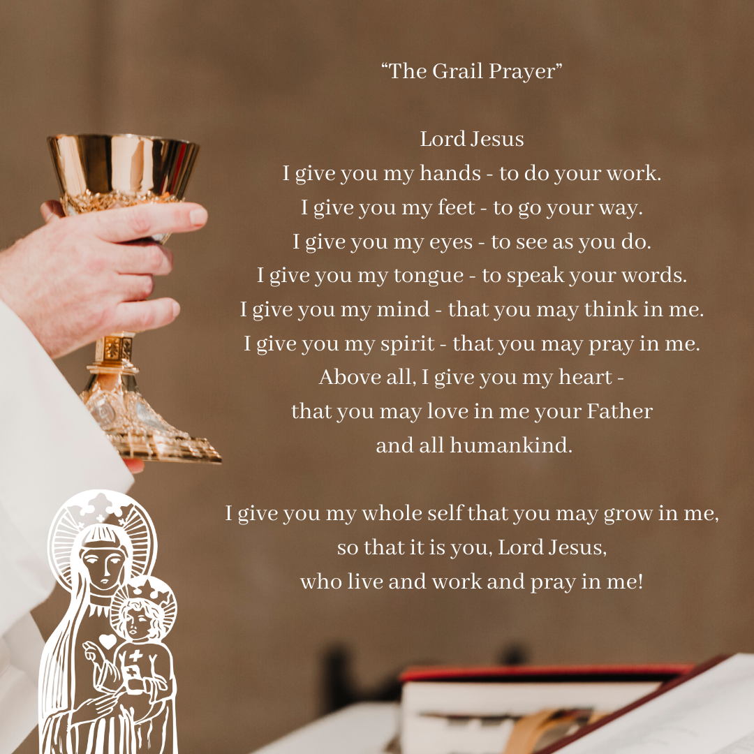 The Grail Prayer Our Lady Queen Of Heaven Church