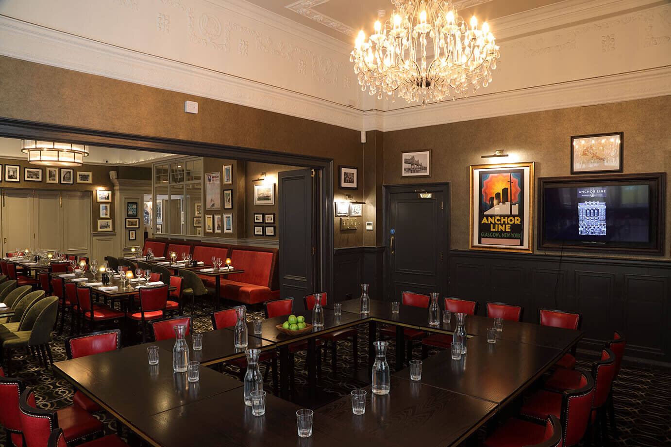 Private Dining The Anchor Line