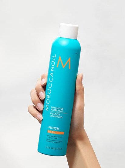 Moroccanoil® Luminous Hairspray Strong — Bamboo Boutique Hair Salon