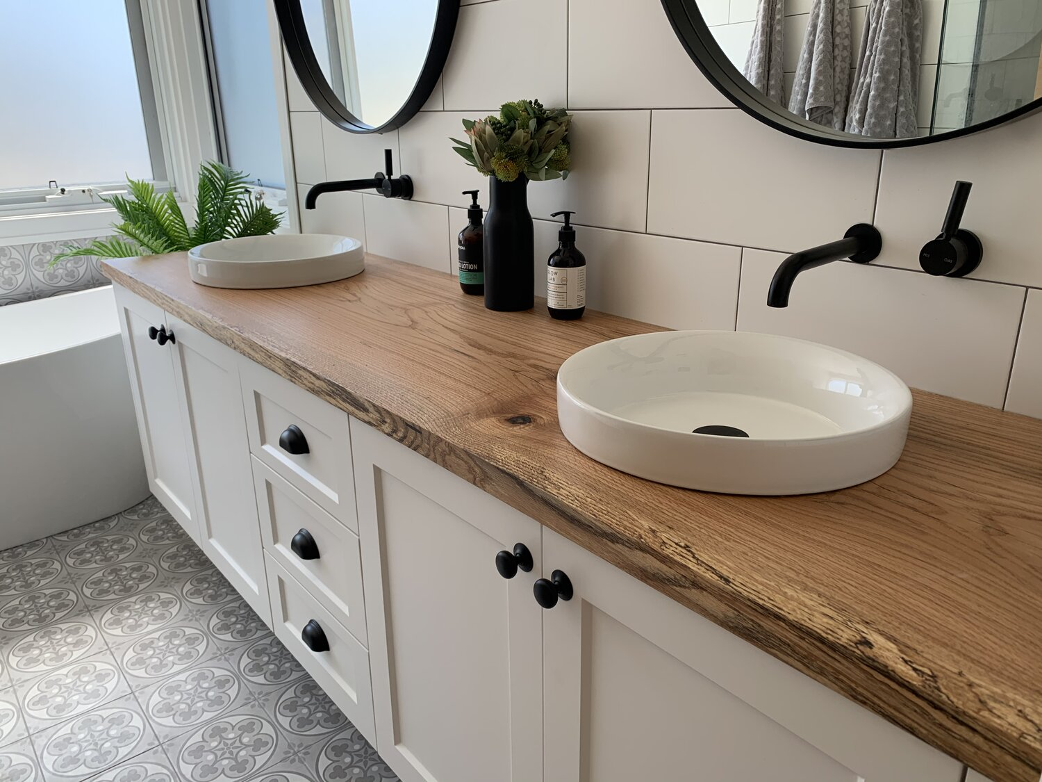 Sustainable Timber Bathroom Vanities The Wood Project