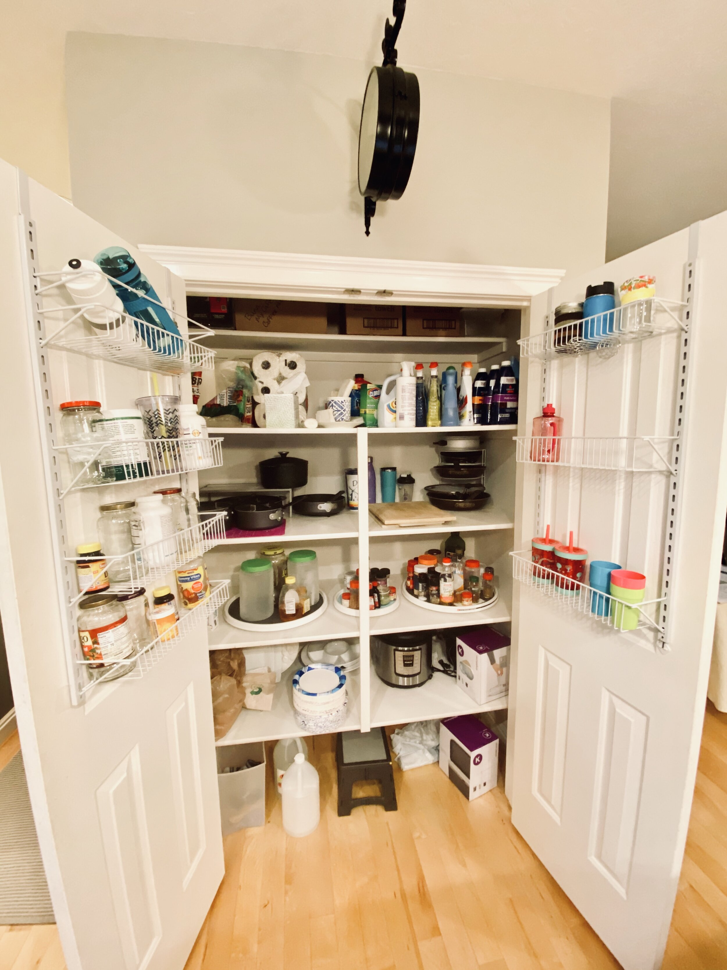 Kitchen Pantry Remodel Ballgown With A Coffee Stain