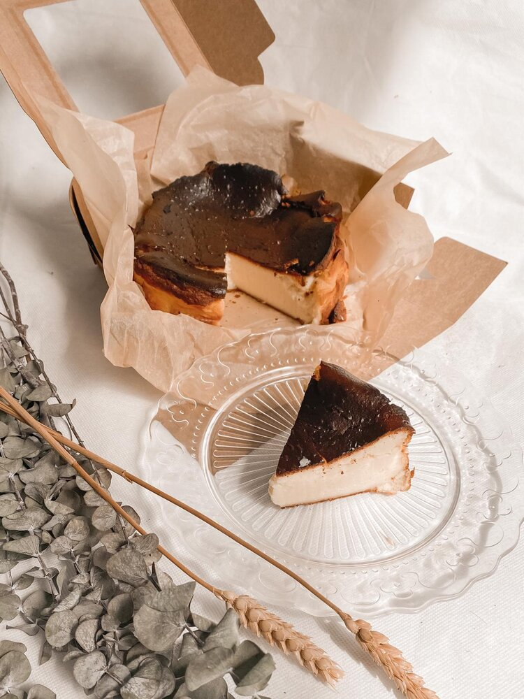 Classic Basque Burnt Cheese Cake