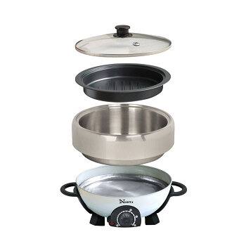 Narita S S Electric Hot Pot And Grill 4 0l Kitchen Cutlery Cookware Electrics Honusquare Cookware Dinnerware Kitchen Electrics And Bbq Grills