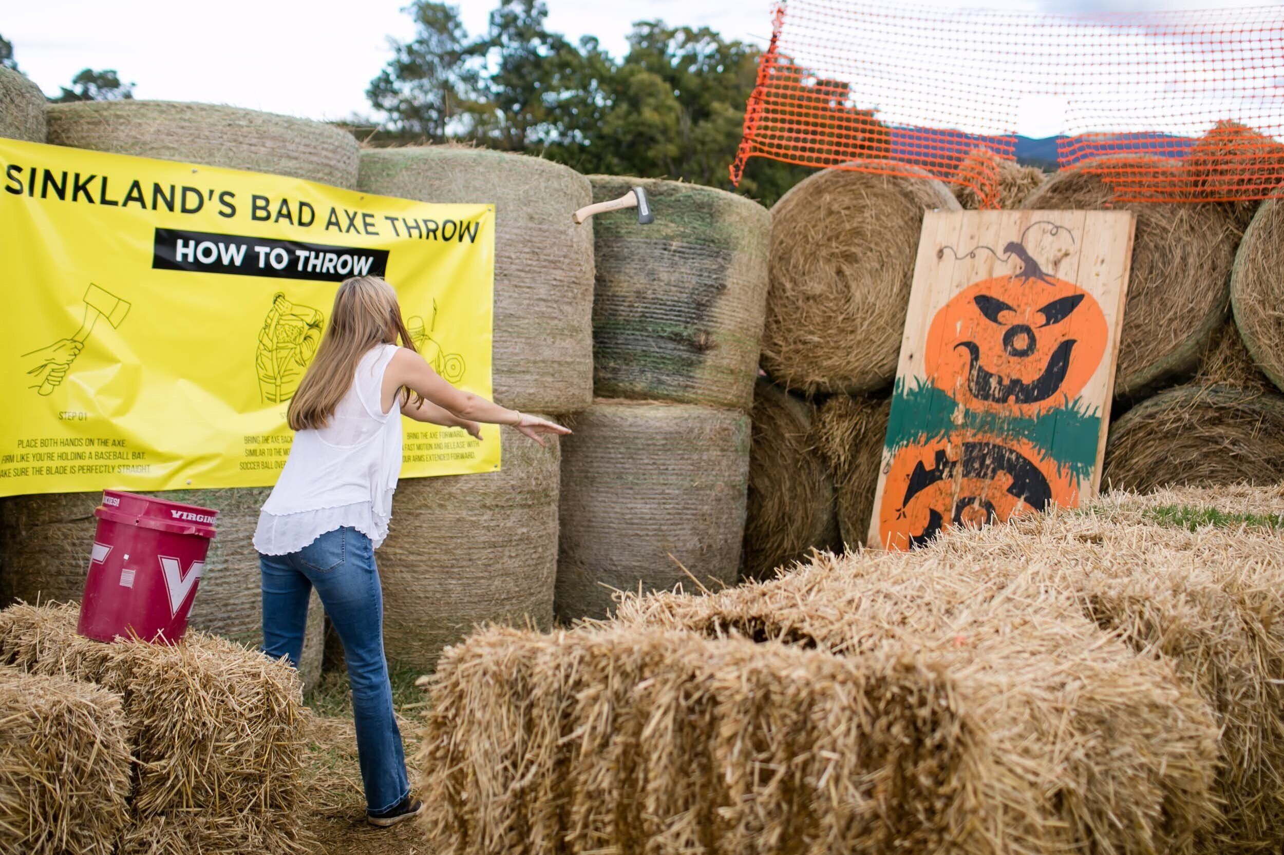 Sinkland S 29th Annual Pumpkin Festival Rated 1 In Va Rustic Weddings Events Farm Festivals Sinkland Farms