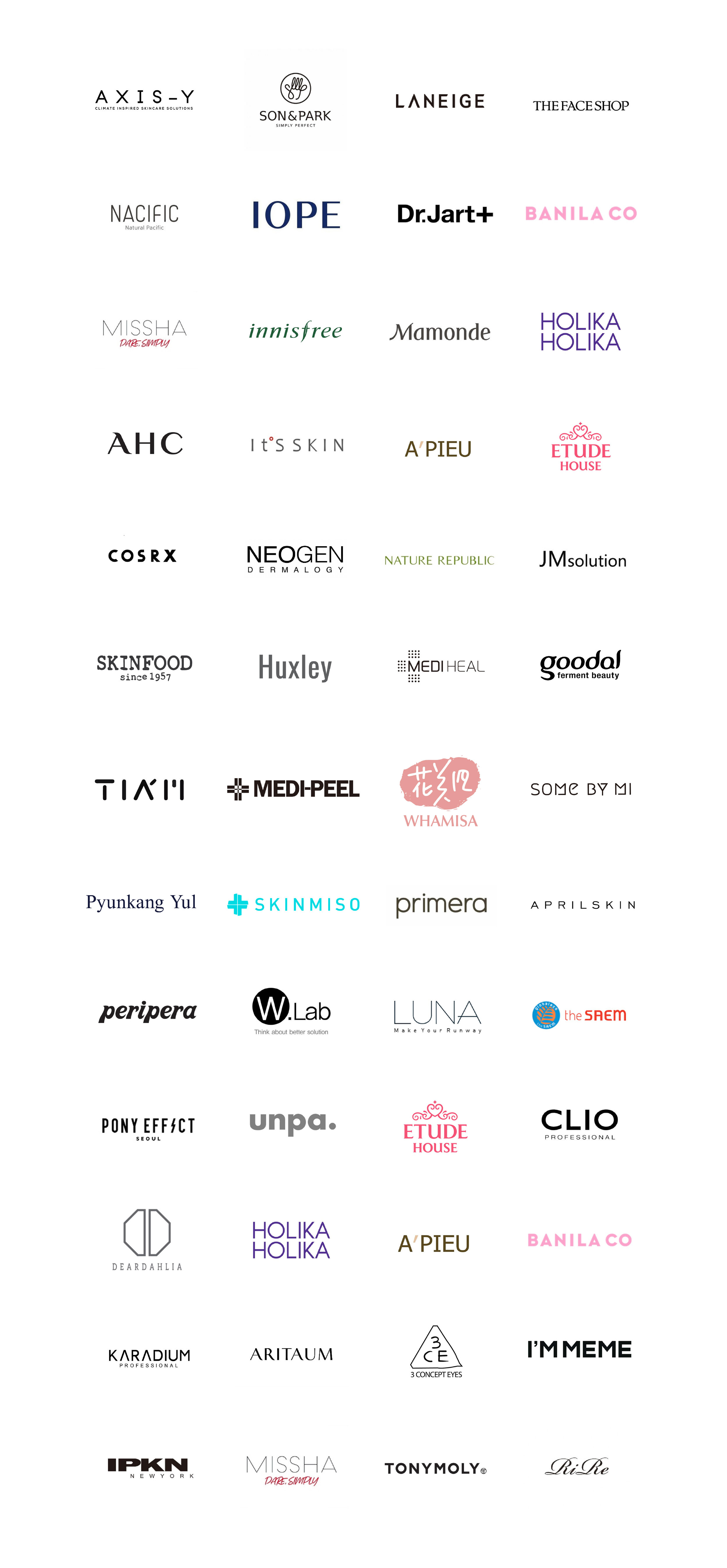 K-Beauty Brands — ASIA MASTER TRADE  Korean Cosmetics Skincare