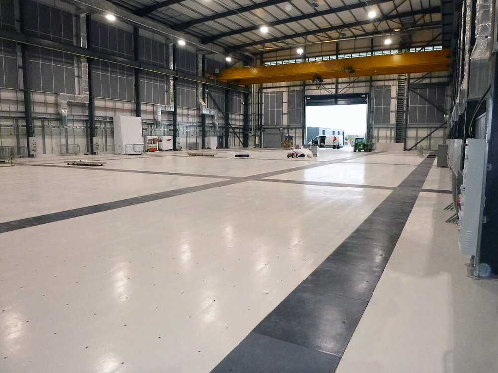 Fibrelite provided a bespoke composite trench covering arrangement for this manufacturing and research facility