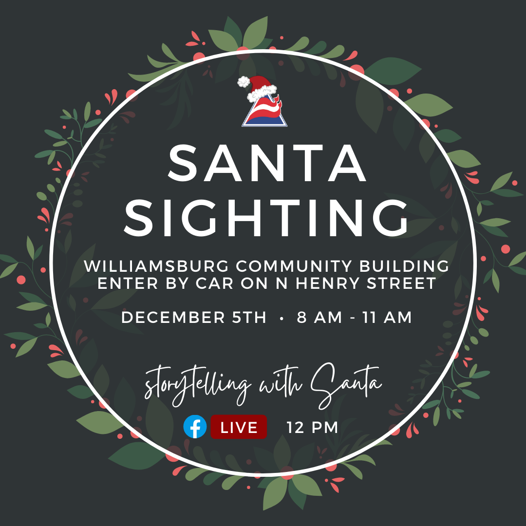 How To Watch The Williamsburg Christmas Parade 2021 2020 Christmas Parade And Santa Sighting Business Council